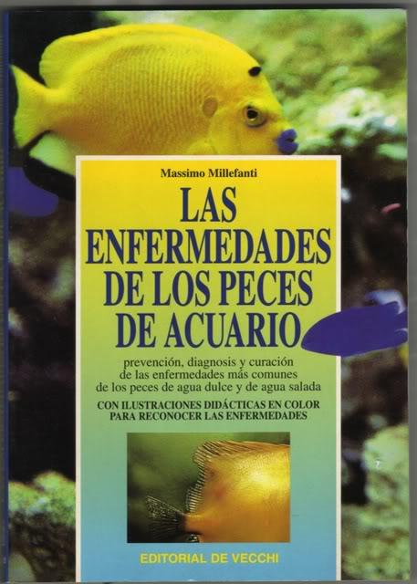 Un libro sobre enfermedades del acuario Libro001