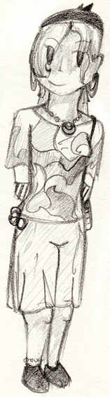 Sketchbook Doodles, GASP! Darkpsy_uncolored