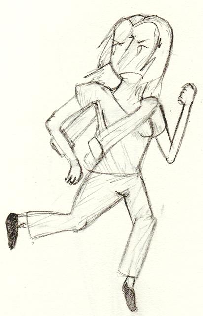 Sketchbook Doodles, GASP! Flee_szayzel
