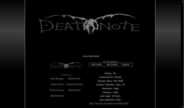 DEATHNOTE!!!!!!!!! Deathnote