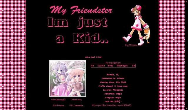 i'm just a kid Justakidp