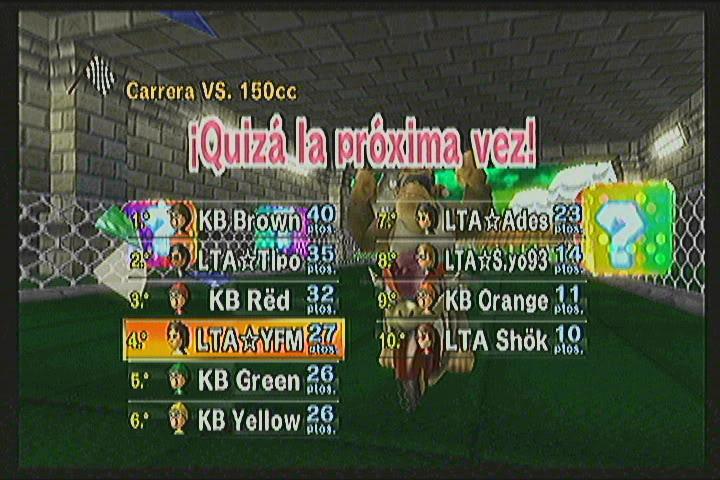 Koopa Bros 310 vs 404 Latin America Team KB2GP