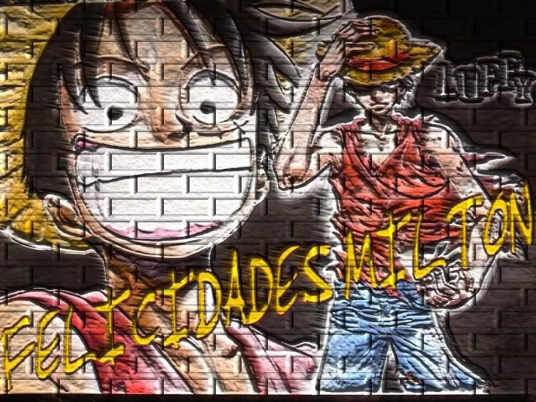 FELICIDADES MILTON Luffy
