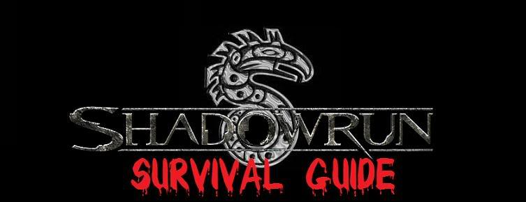 Shadowrun Survival Guide Logo