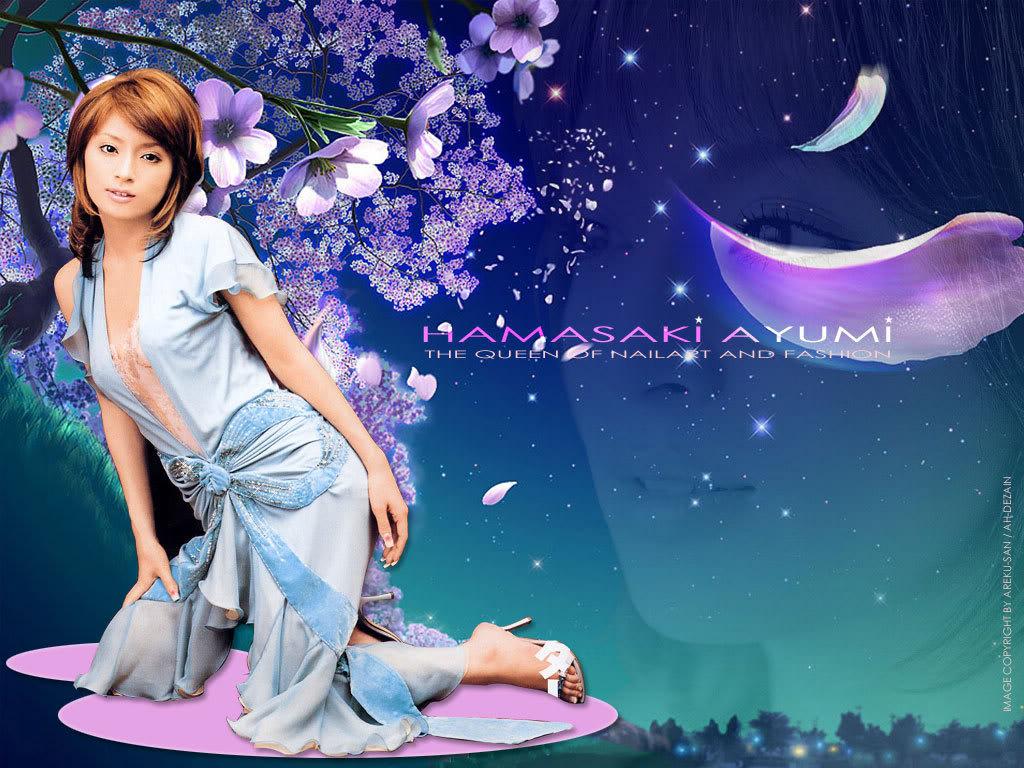 超靚濱崎歩ayumi桌布 Ayu-Covergirl2_1024
