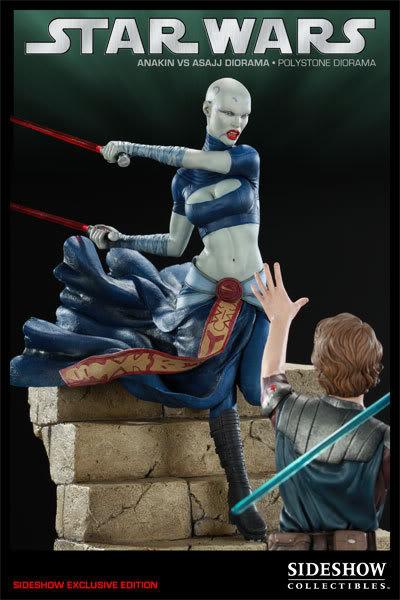 Anakin Vs Asajj Polystone Diorama 22231_press01-001