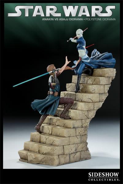 Anakin Vs Asajj Polystone Diorama 2223_press01-001