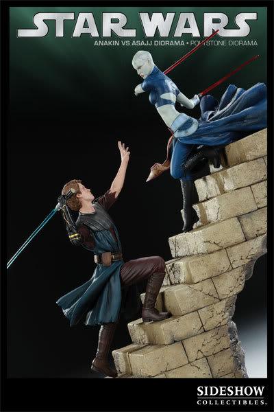 Anakin Vs Asajj Polystone Diorama 2223_press06-001