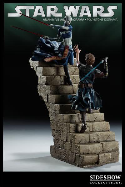 Anakin Vs Asajj Polystone Diorama 2223_press08-001