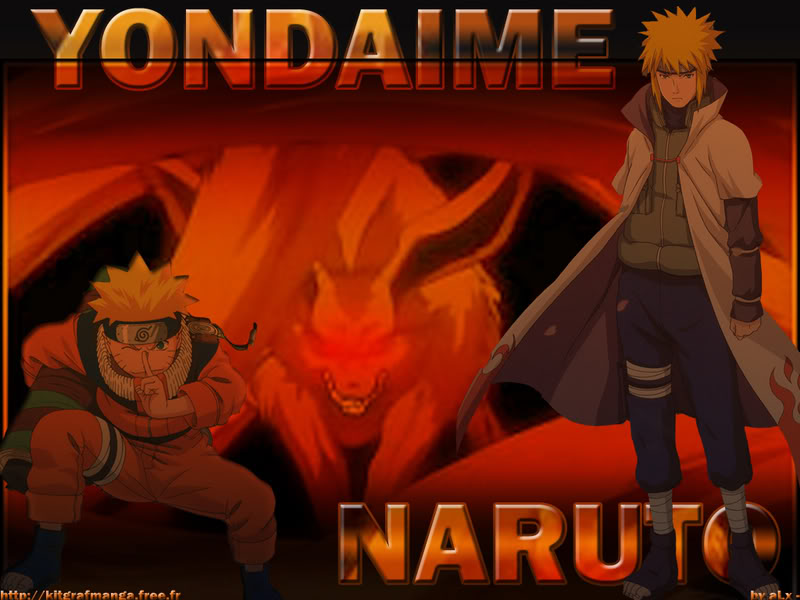صور ناروتو واصدقائه .... Narutoandyondaime