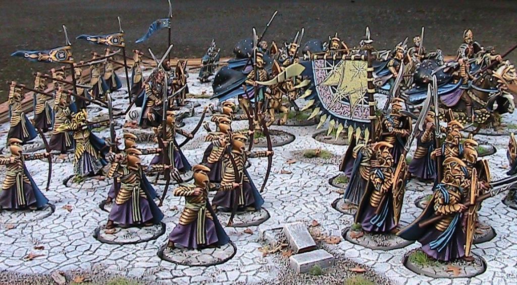 The Last Alliance - L'ultima Alleanza tra Uomini ed Elfi diorama esercito IMG_4301_zps50657923