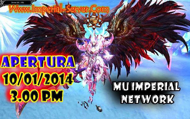 MU IMPERIAL NETWORK 2014 | SERVER PERUANO - ABRIMOS HOYY - HORA: 3.00 PM (HORA PERUANA) ... WWW.IMPERIAL-SERVER.COM ALASEDITADO2_zpsb29e95ac
