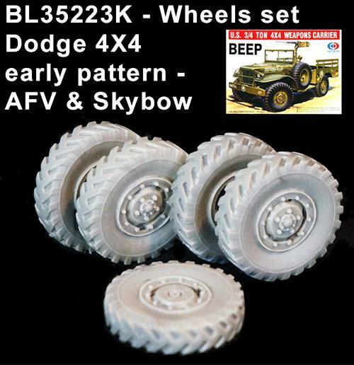 Et Blast Models dans tout ça? - Page 2 BLAST%20Ref%20BL35223K%20wheels%20set%20Dodge%20early%20pattern%204%20%201%20spare%20for%20AFV%20Club-Skybow%20kit_zpskyeiz4z2