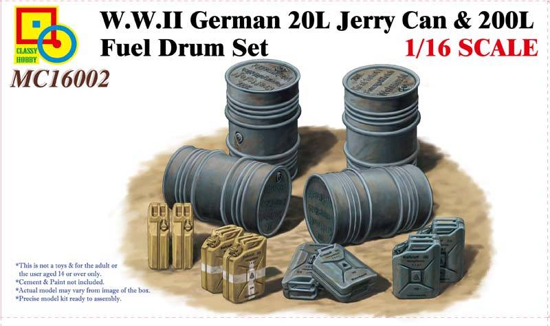 Nouveautés CLASSY HOBBY. CLASSY%20HOBBY%20Ref%20MC16002%20WWII%20german%2020L%20jerry%20can%20amp%20200l%20fuel%20drum%20set_zpsgpsdfsqk