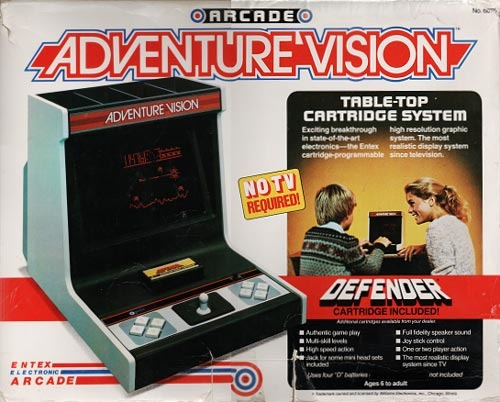 What is your favorite obscure console?  AdventureVision_zpsiedn2v9l
