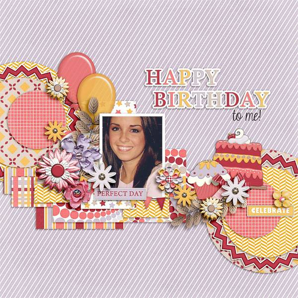 A girl's birthday kit and templates and Welcome to my world templates - May 2. iNSD May2_TinciDesigns_AGirlsBirthday_zps464ce22b