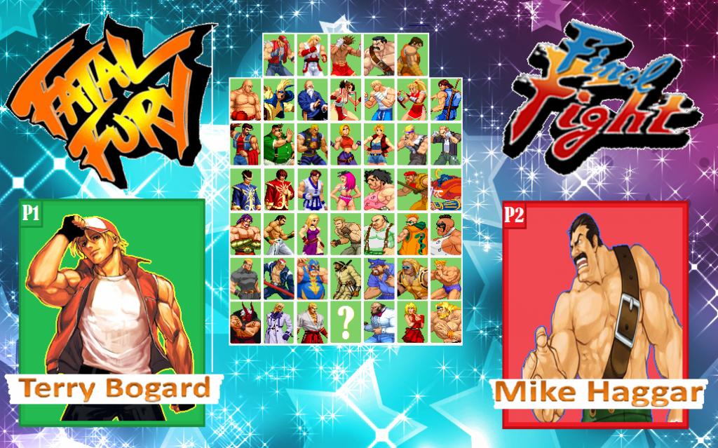 fight - Ninja List ~ Fatal Fury vs Final Fight FFvsFF_zpsae34e182