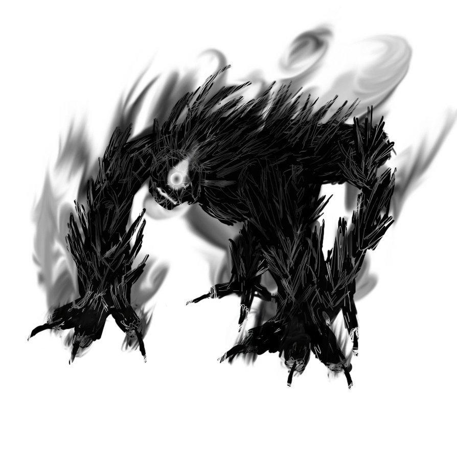 Humanoid Concept Art Shadow Monster Anime Www Picturesboss Com