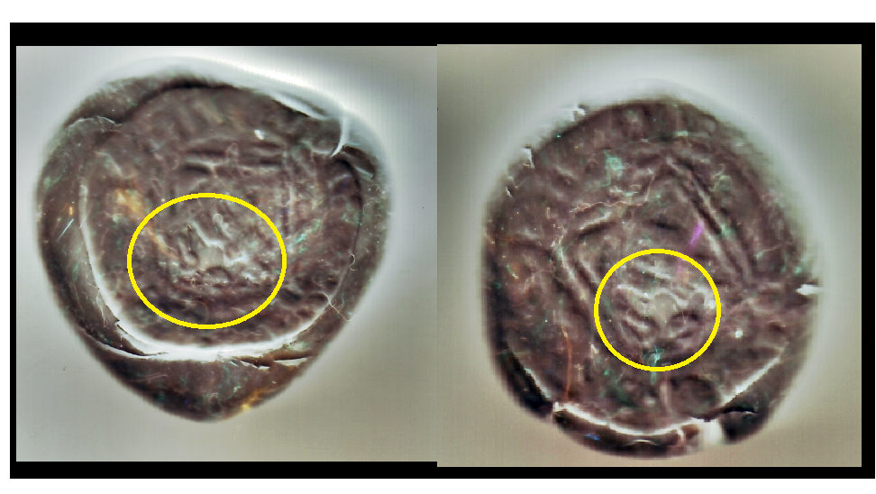 Enrique IV - Blanca del Rombo con contramarca. MARCA_zpscc18b875