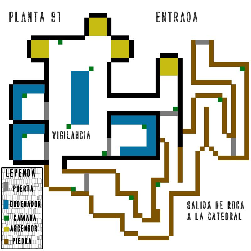 Sadareen X's, ep 2: La prisión de la luz PlantaS1-1