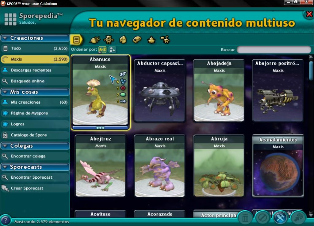 Ultimate Graphics Mod. Cambia la interfaz del Spore! SPOREtradeAventurasGalaacutecticas_10_zpse683ae68