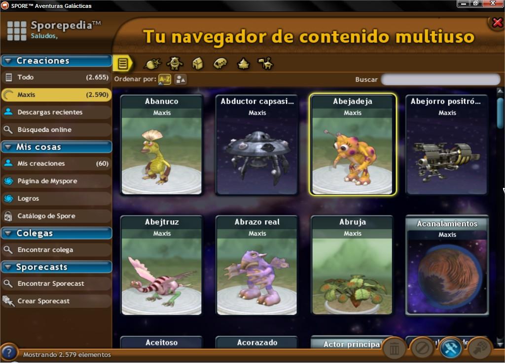 Ultimate Graphics Mod. Cambia la interfaz del Spore! SPOREtradeAventurasGalaacutecticas_15_zpsf367367a