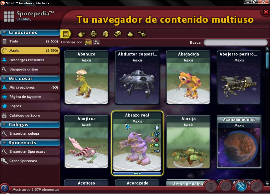 Ultimate Graphics Mod. Cambia la interfaz del Spore! - Página 3 SPOREtradeAventurasGalaacutecticas_2_zps2b8b546a