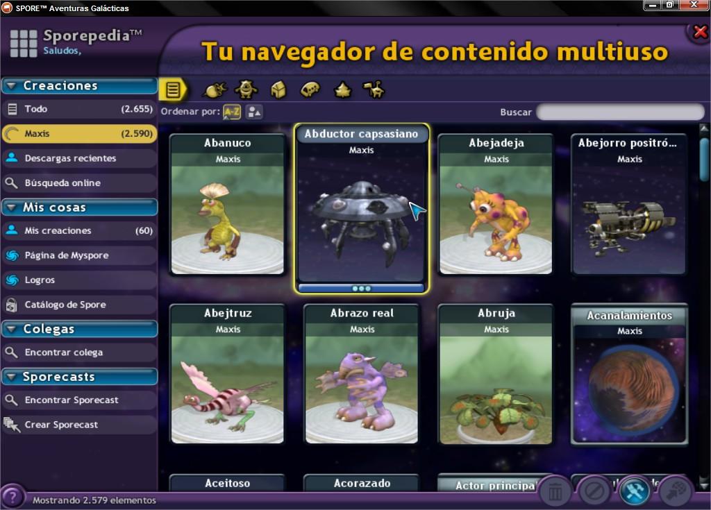 Ultimate Graphics Mod. Cambia la interfaz del Spore! SPOREtradeAventurasGalaacutecticas_3_zps0499ceca