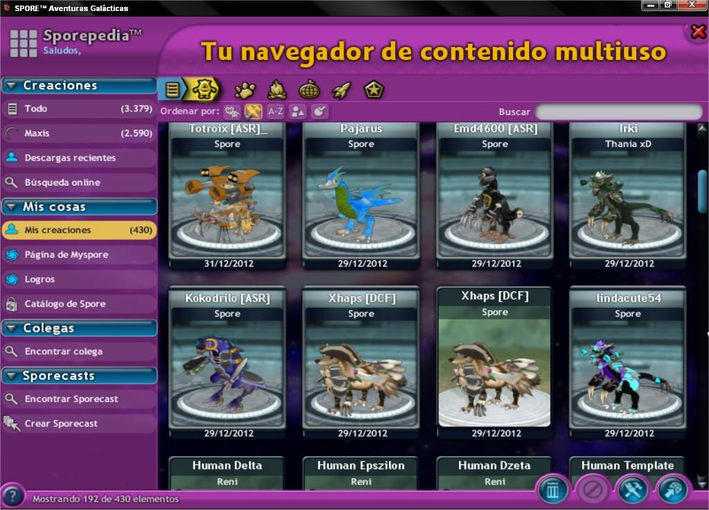 Ultimate Graphics Mod. Cambia la interfaz del Spore! SPOREtradeAventurasGalaacutecticas_3_zps8a9c8a6e