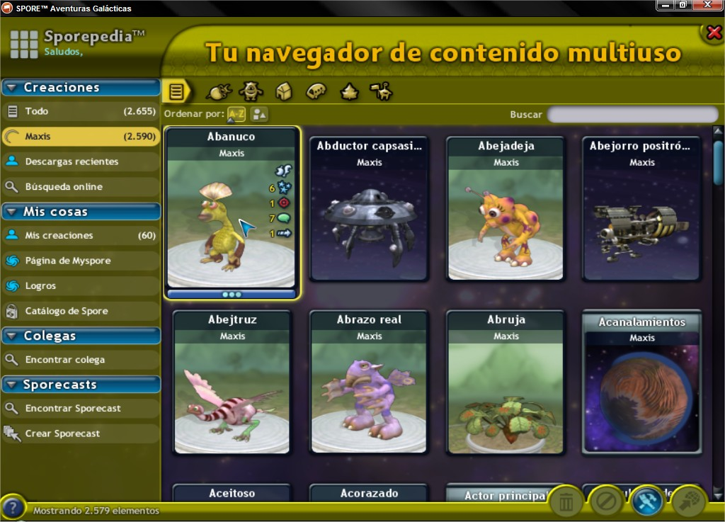 Ultimate Graphics Mod. Cambia la interfaz del Spore! SPOREtradeAventurasGalaacutecticas_4_zpsca5fb684