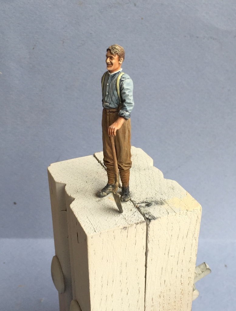 """Le gratteur""- British soldier WW1 - Resicast 1/35 IMG_4370_zps9s0ldosa"