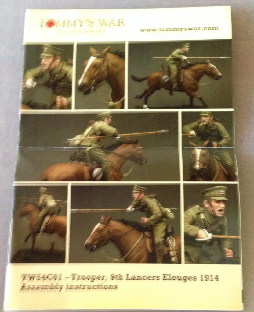 Trooper, 9th Lancers, Elouges 1914 - Cavalier Tommy's war Image3_zps5a9e1f34