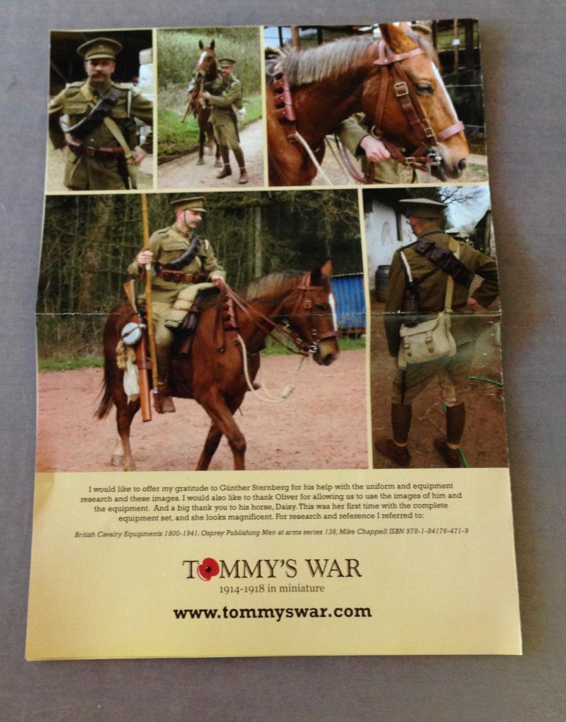 Trooper, 9th Lancers, Elouges 1914 - Cavalier Tommy's war Image5_zps683cbf38