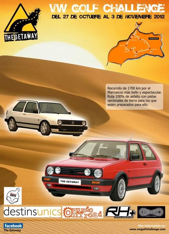 "Golf Challenge Maroc 2012 (Raid "" low cost"" pour m Post"