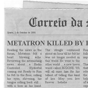 Hydrofoil PT20 Newspaper