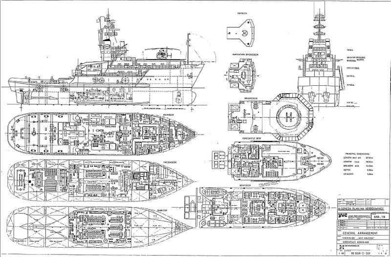 Planos Barcos Estrangeiros WakerPlanoGeral
