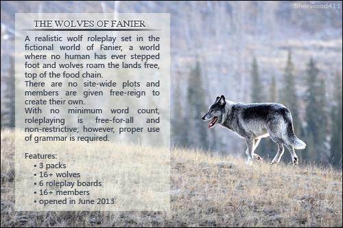 The Wolves of Fanier TWOFAd