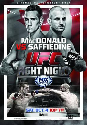 UFC Fight Night 54: MacDonald vs. Saffiedine Results and Bonuses Ufcfn54_zps0a7a6e86