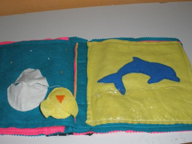 My baby's cloth book. Picture292
