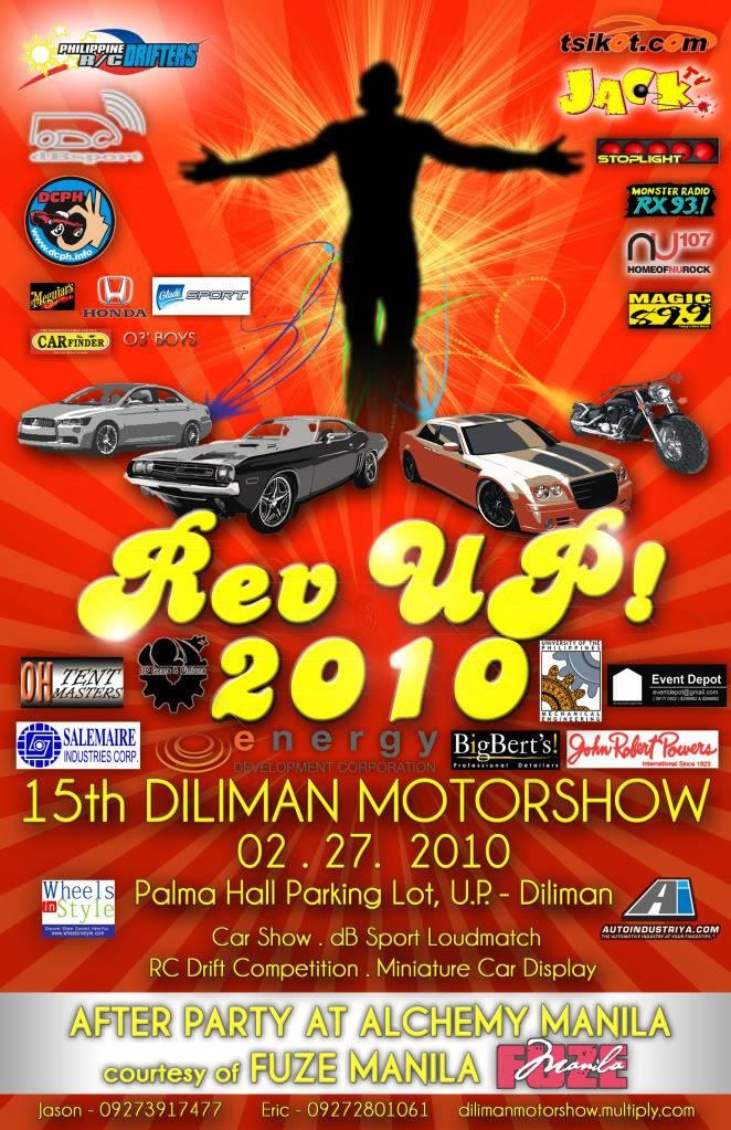 REV UP! 2010 15th Diliman Motorshow DM2010