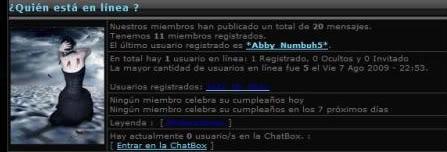 """""""El Poco de los Versos Perdidos"""" (Fan Fics) Estadisticas-1"""
