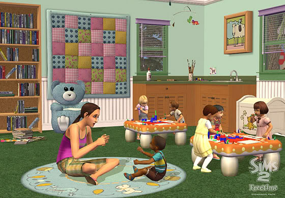 The Sims 2 Free Time Freetime2