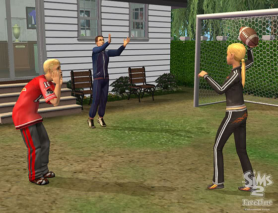 The Sims 2 Free Time Freetime4