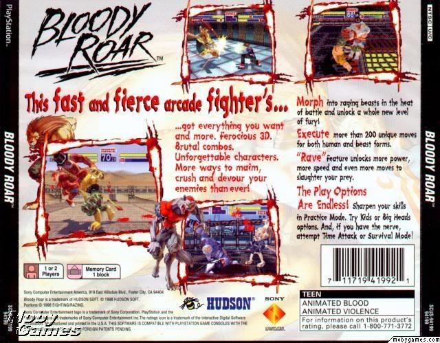 (PSX) Bloody Roar -U- (311MB) BRBACK