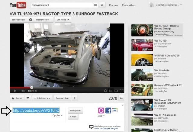 Aprenda a Postar Videos Video2