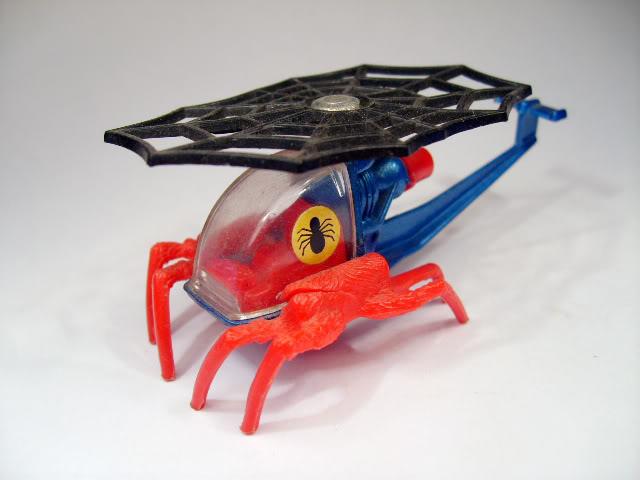 Modelos de Peliculas o Series de TV Spiderman_Corgi