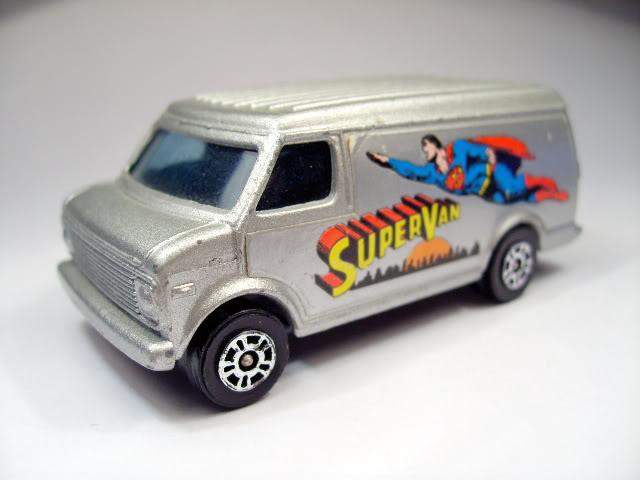 Modelos de Peliculas o Series de TV Supervan_Corgi