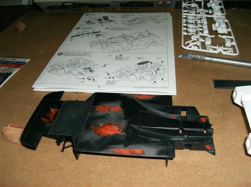 mercedes sauber c9 003-34