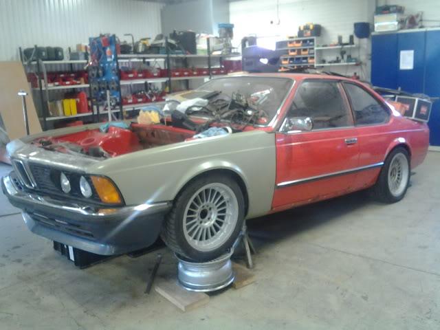 """633csi - BMW 633csi 1977 projekt och M535i 1986 """"sidoprojekt"""" besiktigad !! =) 1358432613"""
