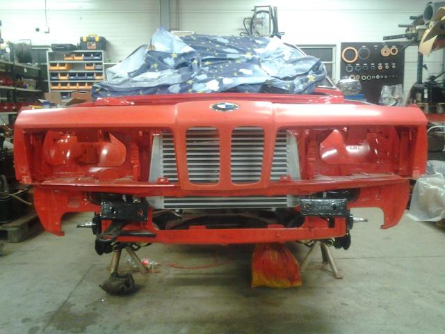 """633csi - BMW 633csi 1977 projekt och M535i 1986 """"sidoprojekt"""" besiktigad !! =) 1358437911"""